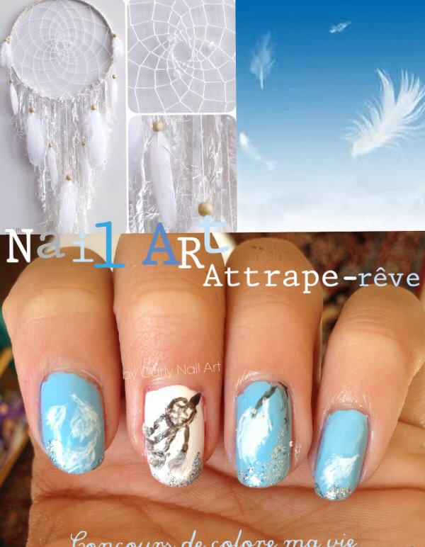 Nail Art Attrape rêve