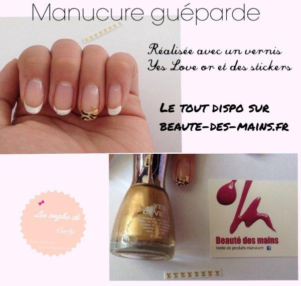 Manucure Guéparde !