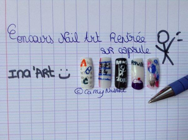 Nail Art sur capsules + BONUS