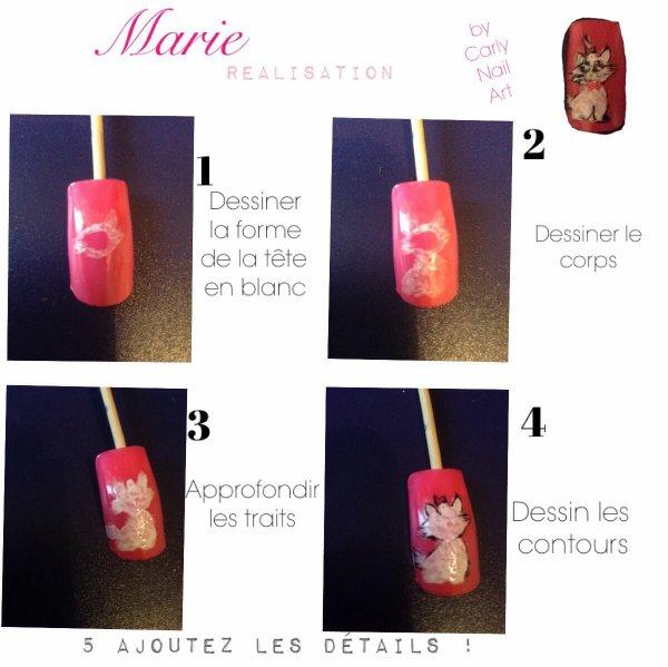 Nail Art Marie  Caps