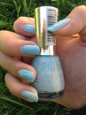 Swatch vernis graffitis bleu