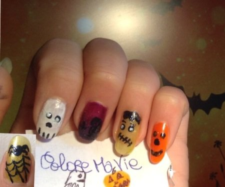 This is Halloween ! - Nails