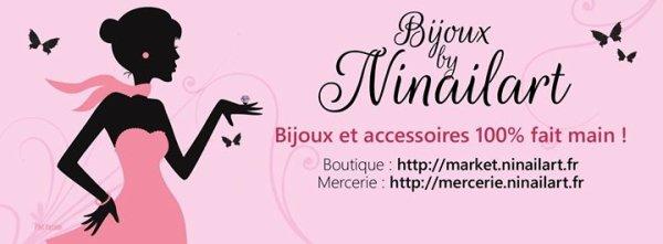 Bijoux By Ninailart + résultats du tirage