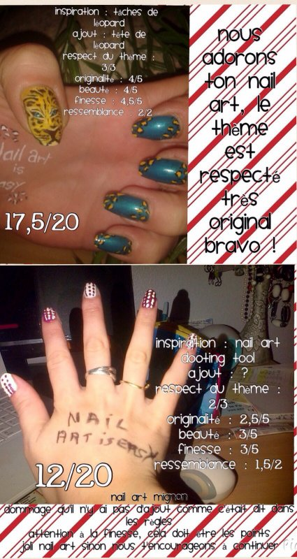"Concours ""Nail Art Is Easy"""