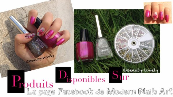 4 Nail art, 4 Design (produits de Modern Nails Art)