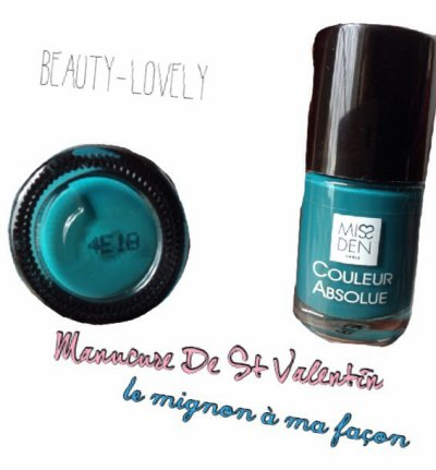 Manucure De St Valentin - Le Mignon à ma façon  + Jeu concours