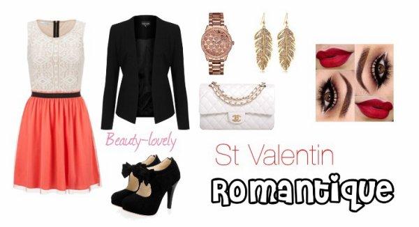 Tenues de Saint Valentin ...