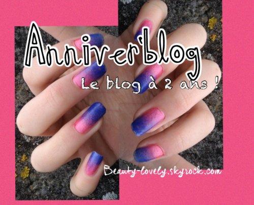 Anniver' blog Il a 2 ans ! Résultats de la Lovely Tombola
