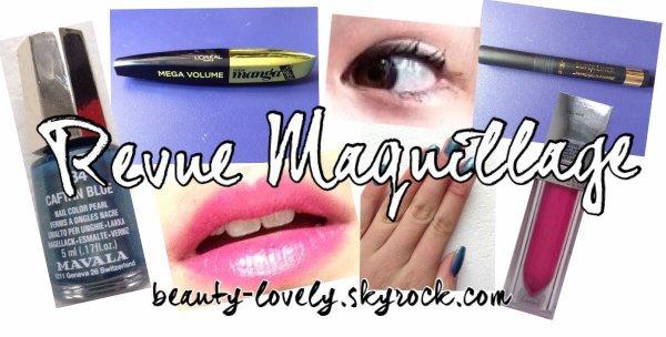 Test de produits Makeup