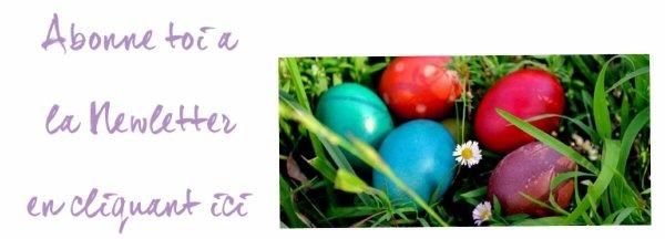 Idées pour Pâques !