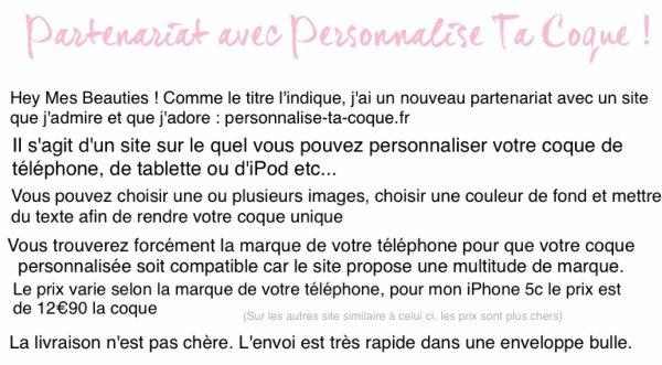 Partenariat avec Personnalise-ta-coque.fr !
