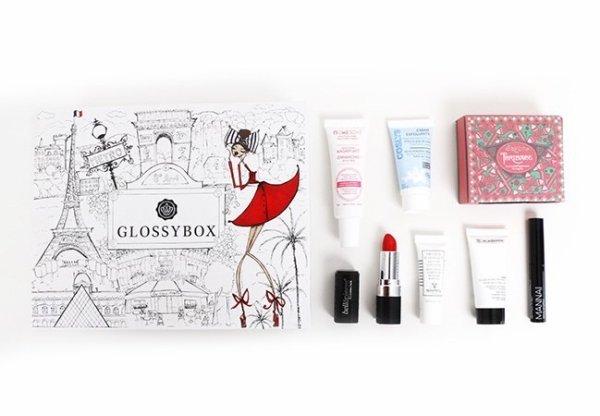 Revue - La Glossy Box de juillet La Parisienne Coquette