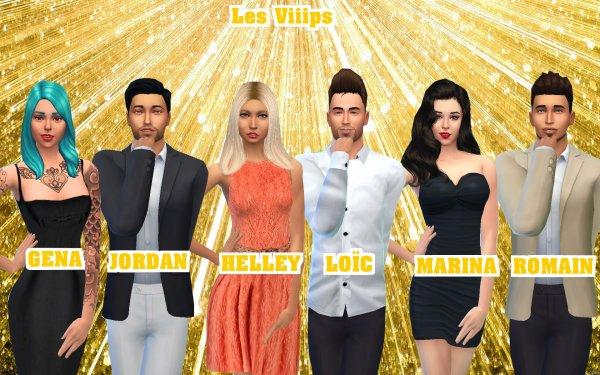 Carré Viiip Sims - Viiips & Wanna Viiips