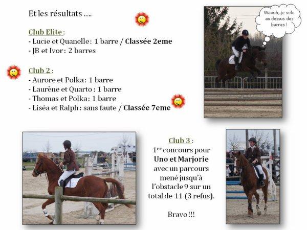 CONCOURS CLUB SAINT BRANCHS 11/03/2012 PAR ISABELLE