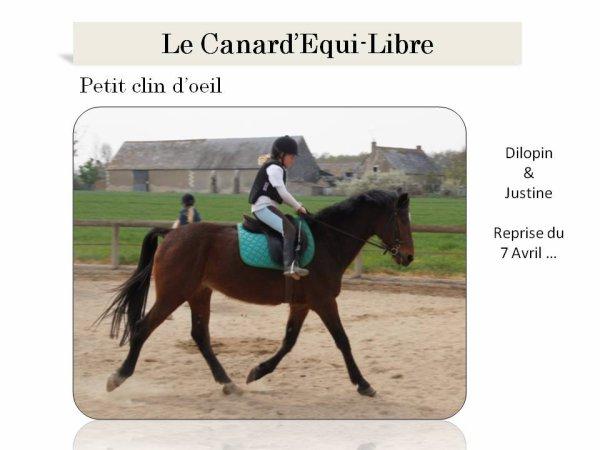 LE CANARD'EQUI-LIBRE PAR ISABELLE