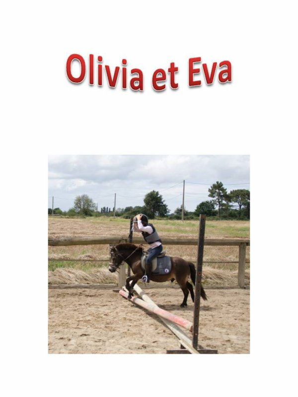 OLIVIA ET EVA PAR PASCALE