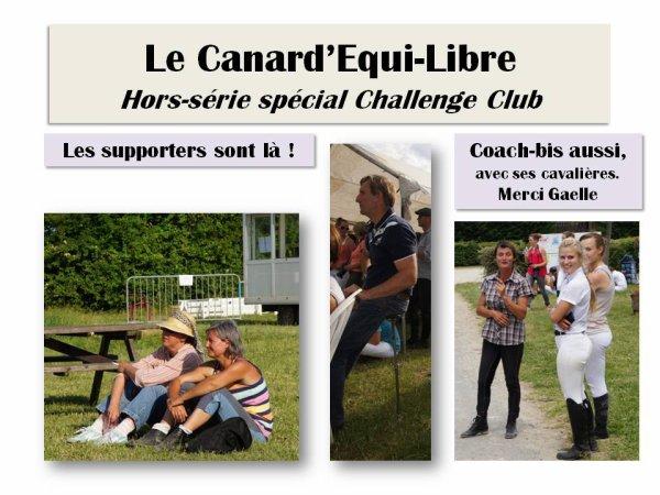 LE CANARD'EQUI-LIBRE HORS SERIE SPECIAL CHALLENGE CLUB PAR ISABELLE