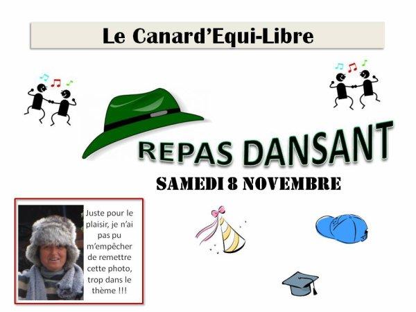 LE CANARD'EQUI-LIBRE DU REPAS DANSANT