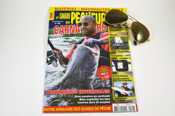une première d'avoir une couverture silure pour le canard du pêcheur carnassiers(et une première pour moi aussi d'ailleurs). c'est bon pour notre poisson. !