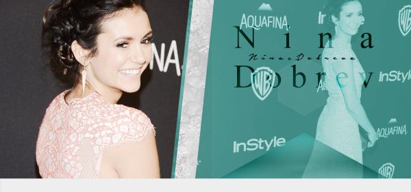 www.NinasDobreva.sky ♥  Votre source d'actualité sur l'actrice  ▪ A travers candids, events, photoshoots et autres, suis le train-train quotidien de Nina Dobrev .