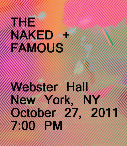 Got My Tickets!  The Naked and Famous in NYC Part 001