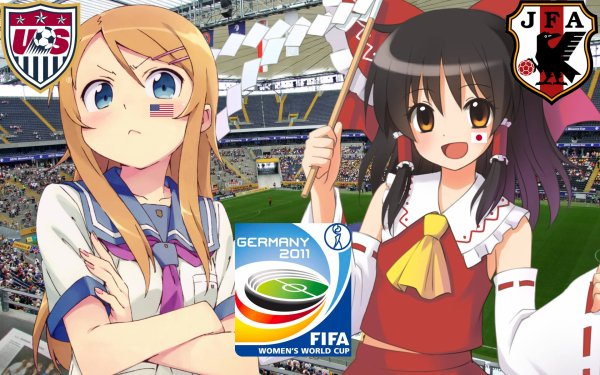 Women's World Cup: Good luck to Nadeshiko Japan