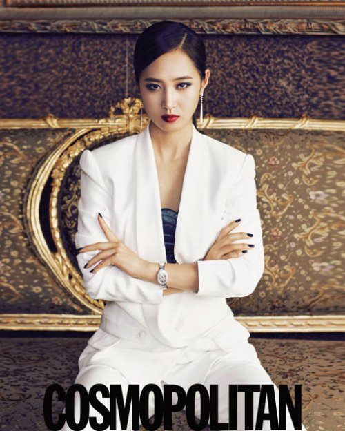 Kwon Yu-ri (권유리) (ユリ):  Cosmopolitan Korea September 2011