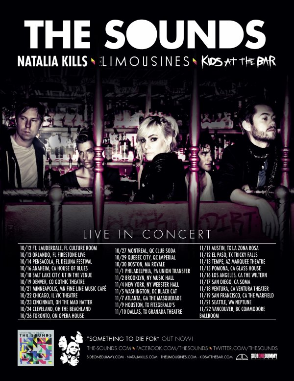 Got My Tickets! The Sounds and Natalia Kills in NYC Part 001