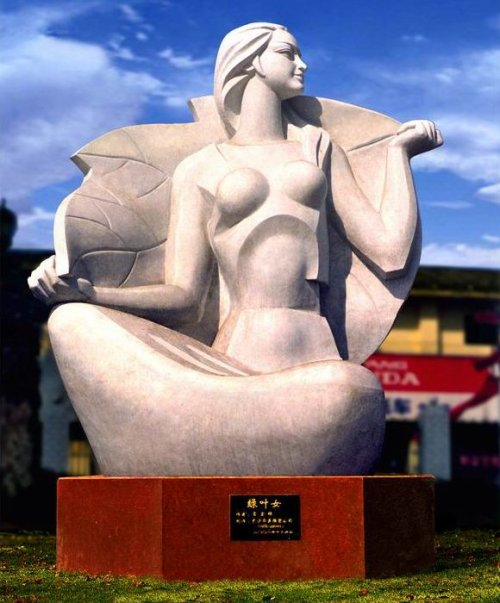 Lei Yixin (雷宜锌):  Sculptor of the MLK Memorial Part 002