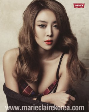 Narsha (나르샤) (朴孝珍): Marie Claire Korea December 2011 Part 002