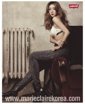 Narsha (나르샤) (朴孝珍): Marie Claire Korea December 2011 Part 001