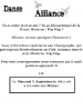 Alliance recrute !!