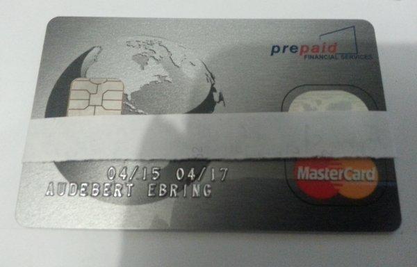 Carte de retrait, paiement de Profits25