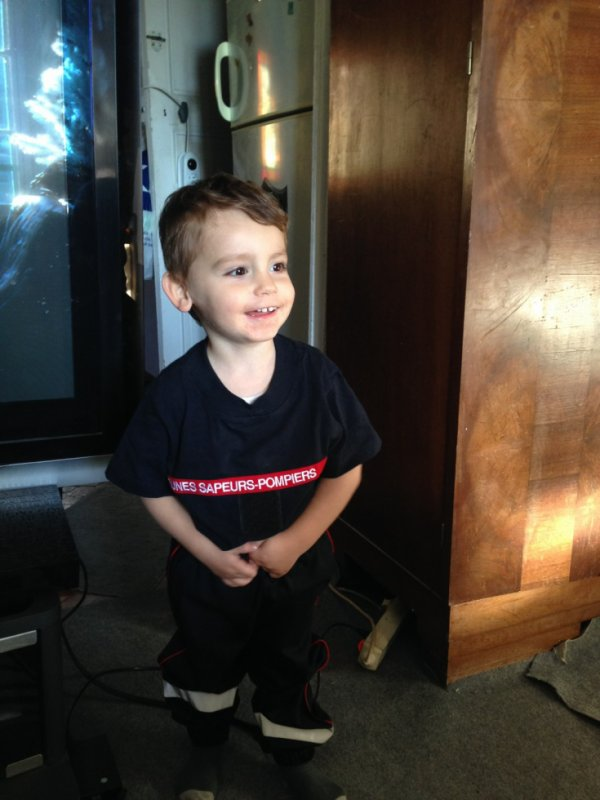 mon futur pompier :)