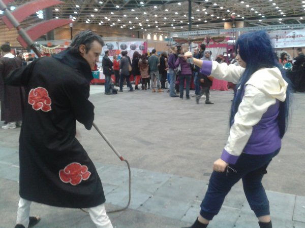 Hidan vs Hinata