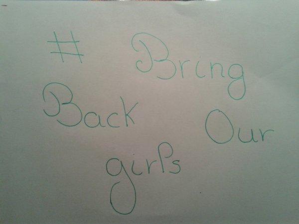 faites tourner pour les filles qui ont été enlevées