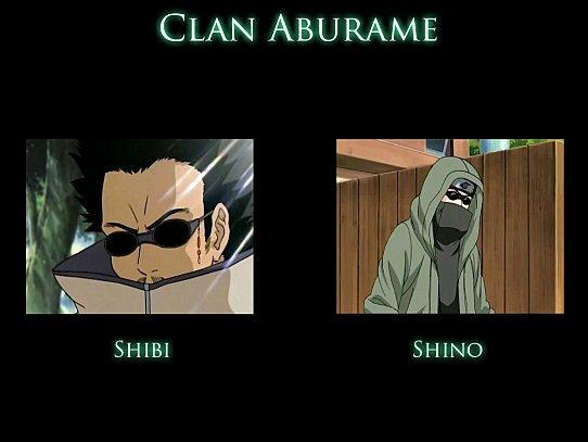 La famille Aburame