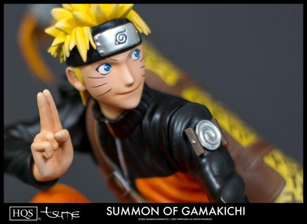 "Présentation de Naruto Uzumaki ""HQS"" -- Summon of Gamakichi"