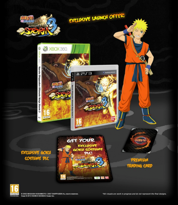 Naruto Shippuden : UNS 3 s'offre deux éditions collector en Europe !