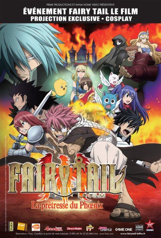 Événement : le film Naruto et Fairy Tail au cinéma dans toute la France !
