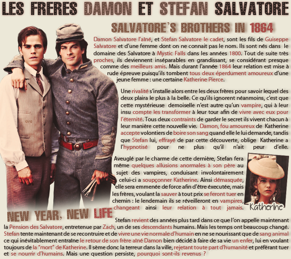 • Article : Stefan & Damon Salvatore (The Vampire Diaries)_____________________________-Newsletter- || -Création- || -Inspiration-