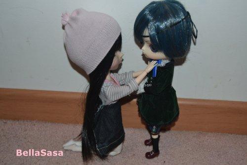 Petite scénace photo de toute mes dolls court rapide mais efficace ! :okjesors: