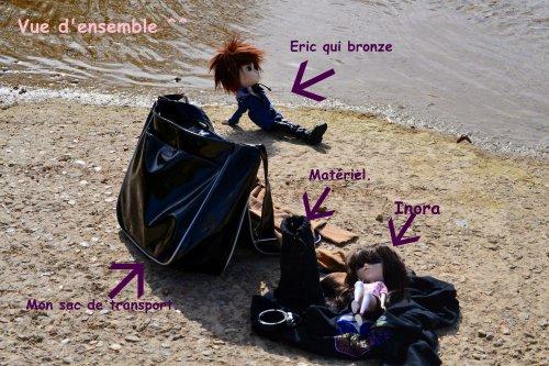 Séance photo de Eric le beau gosse et Inora  la mignonne ^^