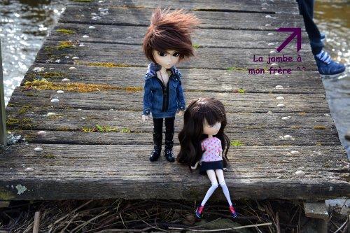 Séance photo de Eric le beau gosse et Inora  la mignonne ^^ fin
