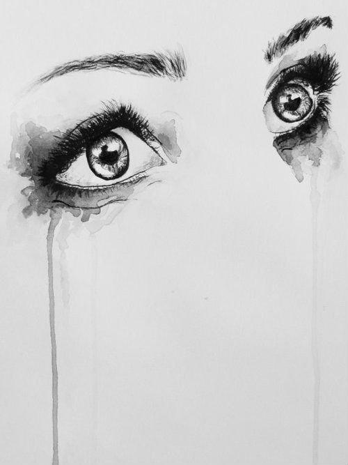 Les larmes sont salées car quand elles sortent elles emportent toutes les émotions qu'elles déclenchent