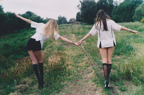 Sur le chemin de l'amitié !