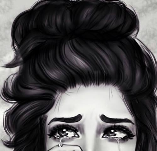 Ce moment où tu ne peux pas parler parce que tu sais que tu vas pleurer.