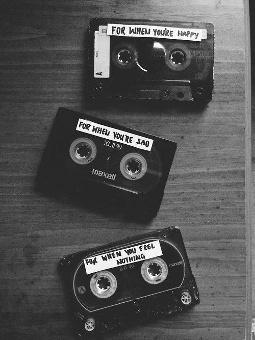 Les musiques tristes te rentrent par les oreilles et te sortent par les yeux.