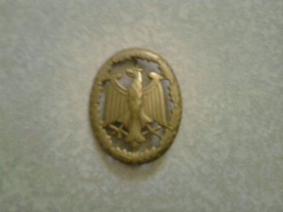 Badge de compétence militaire (Leistungsabzeichen)  de Bundeswehr