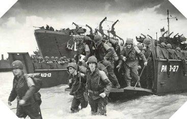 69ème anniversaire du débarquement de Normandie (6 juin 1944)